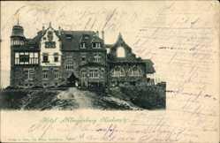 Postcard Neckarelz Mosbach im Neckar Odenwald Kreis, Blick auf Hotel Klingenburg