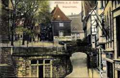 Postcard Mülheim an der Ruhr in Nordrhein Westfalen, Blick in die Bogenstraße