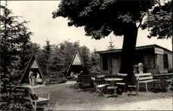 Foto Ak Ilsenburg am Nordharz, Waldgasthaus Plessenburg