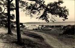 Ak Luftkurort Plau am See, Partie im Zeltplatz am Plauer See, Camping