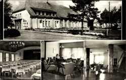 Postcard Ostseebad Dierhagen, FDGB Heim Ernst Moritz Arndt, Innenansicht
