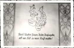 Postcard Friedrichroda im Thüringer Wald, Sanatorium, Tannenhof, Waschen, Baden