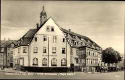 Postcard Georgenthal im Tal der Apfelstädt Thüringen, FDGB Ferienheim, Clara Zetkin