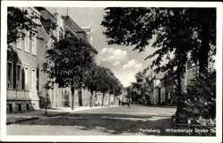 Postcard Perleberg in der Prignitz, Blick in die Wittenberger Straße