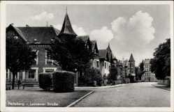 Postcard Perleberg in der Prignitz, Wohnviertel in der Lenzener Straße