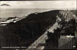 Postcard Brunshaupten Kühlungsborn im Kreis Rostock, Strand und Bülow Weg