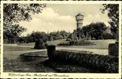 Postcard Bad Wilsnack in der Prignitz, Stadtpark mit Wasserturm