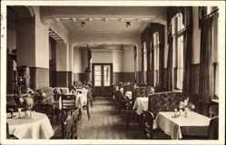 Postcard Halle an der Saale, Norddeutsches Haus, Henry Wandel, Königstraße 27