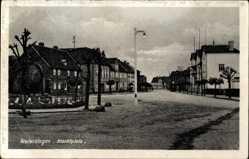 Postcard Oebisfelde Weferlingen in Sachsen Anhalt, Der Marktplatz
