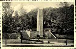 Postcard Heilbad Heiligenstadt in Thüringen, Das Kriegerehrenmal