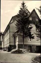 Postcard Heilbad Heiligenstadt in Thüringen, Redemptoristen Kloster, Exerzitenhaus