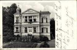 Postcard Friedrichroda im Thüringer Wald, Herzogsweg 3, Villa Regina, Garten