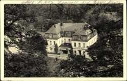 Foto Ak Freiberg im Kreis Mittelsachsen, Blick auf das Stadtbad Hotel