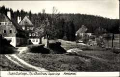 Postcard Sayda im Erzgebirge, Jugendherberge Ilja Ehrenburg, Mortelgrund