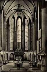 Postcard Bad Wilsnack in der Prignitz, Wunderblutkirche, Innenansicht