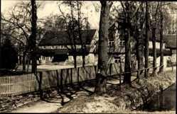 Litho Ak Affalter Lößnitz im Erzgebirge Sachsen, Jugendherberge Clara Zetkin