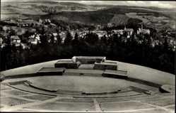 Postcard Schwarzenberg im Erzgebirge Sachsen, Feierstätte Wilhelm Pieck