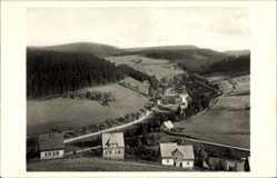 Postcard Johanngeorgenstadt im Erzgebirge Sachsen, Blick zur Dreckschänke