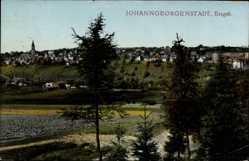 Postcard Johanngeorgenstadt im Erzgebirge Sachsen, Blick zum Ort