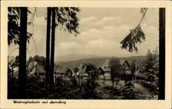 Postcard Weitersglashütte Eibenstock im Erzgebirge Sachsen, Blick auf den Ort