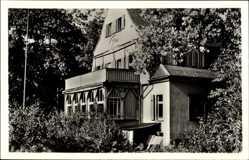 Postcard Bad Elster im Vogtland, Schwesternkurheim Schorbus, Diakonissenhaus