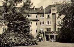 Postcard Bad Wilsnack in der Prignitz, Blick auf das Goethehaus, Fassade