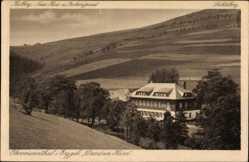 Postcard Oberwiesenthal im Erzgebirge Sachsen, Blick auf das Dresdner Heim, Keilberg