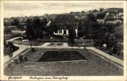 Ak Gerbstedt im Kreis Mansfeld Südharz, Anlagen am Turnplatz
