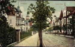 Ak Salzwedel in der Altmark, Grosser Stegel, Häuser mit Erker