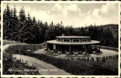 Postcard Bad Brambach im Vogtland, Blick auf das Wald Kaffee