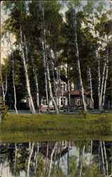 Postcard Bad Wilsnack in der Prignitz, Motiv aus dem Schützenpark, Gewässer