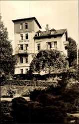Postcard Bad Elster im Vogtland, Staatsbad, Blick auf das Haus Tietze