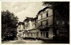 Postcard Friedrichroda im Thüringer Wald, Blick auf das Thüringer Wald Heim