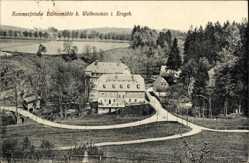 Postcard Wolkenstein im Erzgebirge, Sommerfrische Hüttenmühle