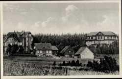 Ak Tanne Oberharz am Brocken, Blick auf den Ort, Kurhaus, Kinderheim