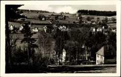 Postcard Sohl Bad Elster im Vogtland, Blick auf den Ort mit umliegender Landschaft