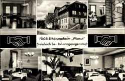 Postcard Steinbach Johanngeorgenstadt im Erzgebirge Sachsen, FDGB Erholungsheim Wismut