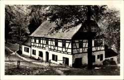 Postcard Ansprung Marienberg im Erzgebirge, Die Hüttstadtmühle