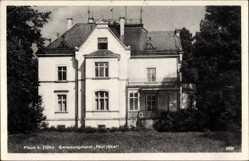 Postcard Plaue Flöha in Sachsen, Genesungsheim Paul Jäkel