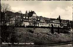 Ak Schierke Wernigerode am Harz, Das Hotel Heinrich Heine VEB