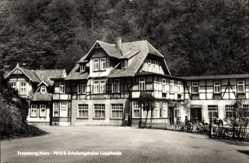 Ak Treseburg Thale im Harz, Das FDGB Erholungsheim Luppbode