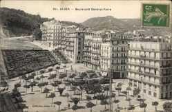 Postcard Algier Alger Algerien, Boulevard Général Farre, Clinique