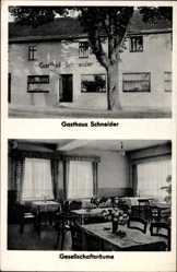 Postcard Almersbach Westerwald, Gasthaus Schneider, Gesellschaftsräume