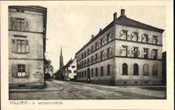Postcard Müllheim im Kreis Breisgau Hochschwarzwald, Blick in die Werderstraße