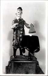 Ak Sonneberg in Thüringen, Spielzeugmuseum, Zauberkünstler, Clown, Puppe
