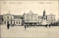 Postcard Louvain Leuven Flämisch Brabant, La Gare, Der Bahnhof