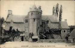 Ak Guingamp Côtes d'Armor, L'Ancienne Abbaye de Sainte Croz