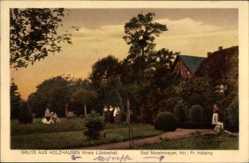 Postcard Holzhausen Preußisch Oldendorf, Bad Maschmeyer, Inhaber Holsing