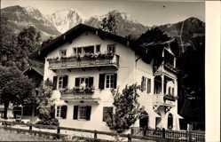 Postcard Schönau Königssee, Landhaus Pension Unterstein,Franz Weindl