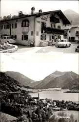 Postcard Schliersee im Kreis Miesbach Oberbayern, Haus Seeblick, Totale